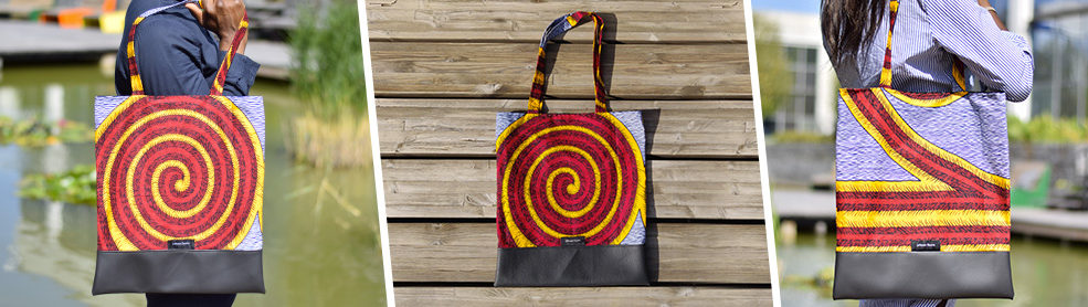 Tote Bag wax Spirale